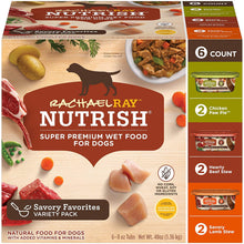 Load image into Gallery viewer, Rachael Ray Nutrish Dog Food Variety Pack - 8 OZ