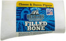 Load image into Gallery viewer, Red Barn Filled Bone Cheese/Bacon 3""