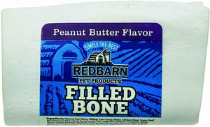 Red Barn Filled Bone Peanut Butter 3""