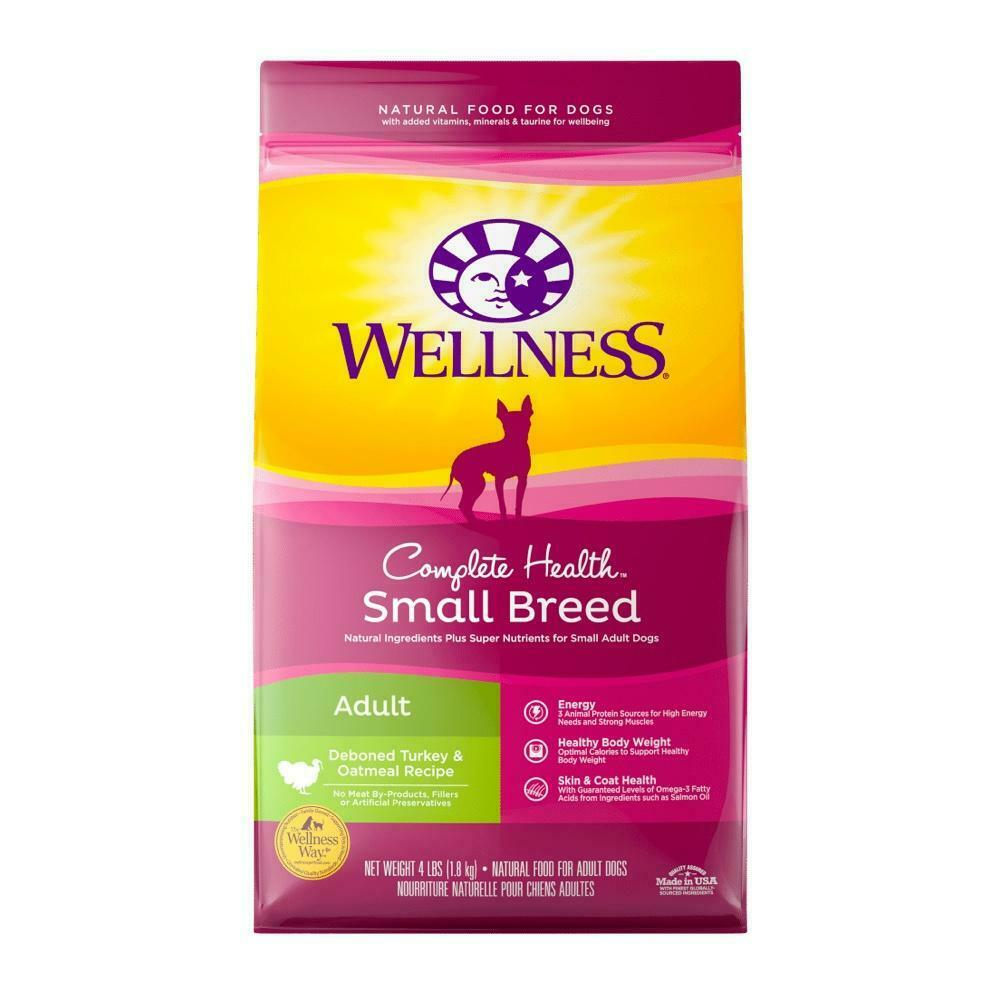 Wellness Complete Health Small Breed Adult Health 12 lbs