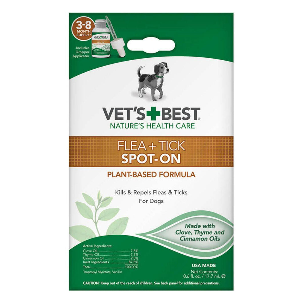 Vet's Best Flea and Tick Spot-On Drops
