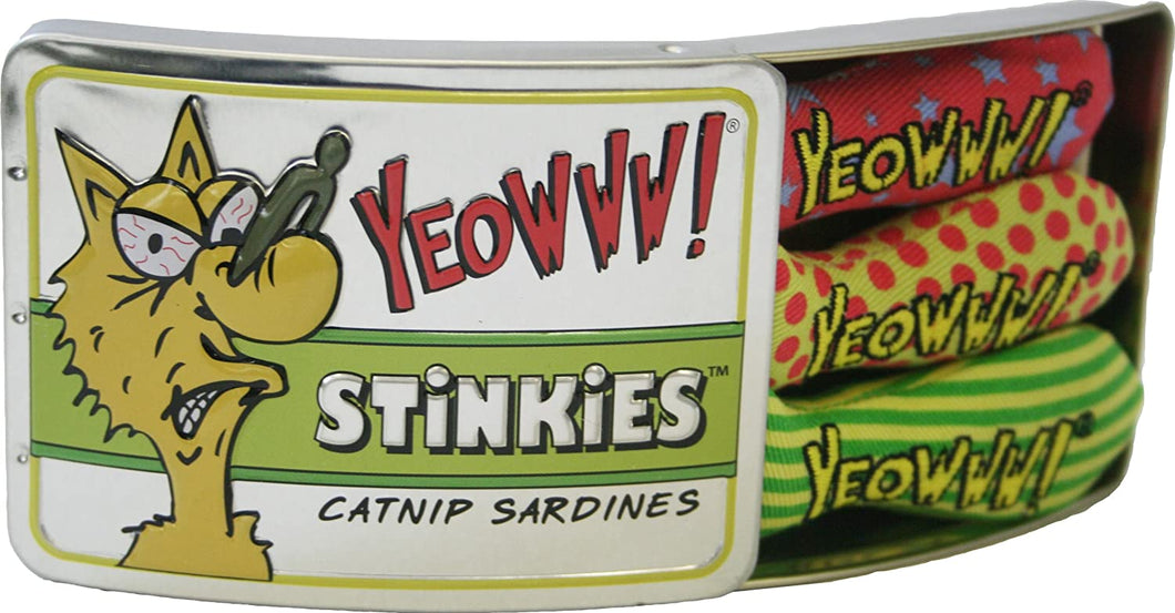 Yeowww! Tin of Sardine Stinkies
