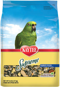Kaytee Supreme Parrot Bird Food 5lb