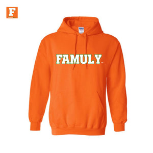FAMULY-Orange Hoodie
