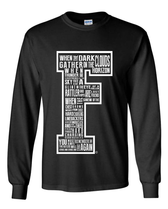 Quote Me | Long Sleeve Black Out Edition