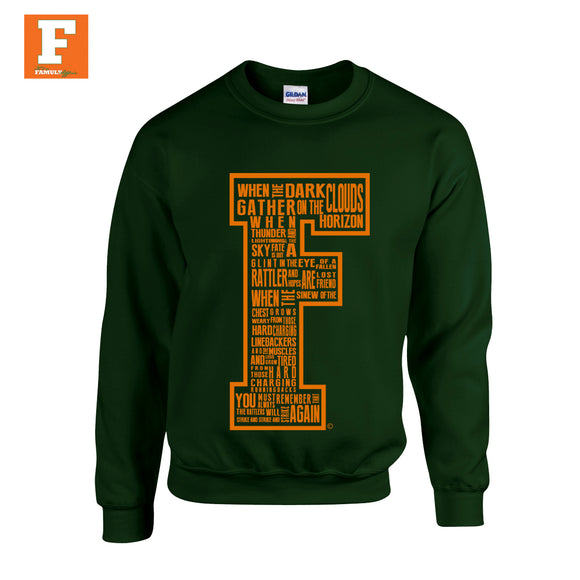 Quote Me- Green Crewneck