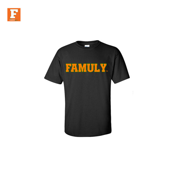 FAMUly- Kids Black Shirt