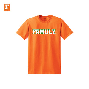 FAMUly- Kids Orange Shirt