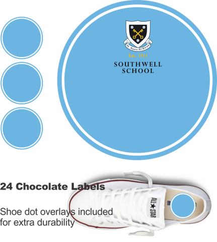 Southwell School Shoe Labels