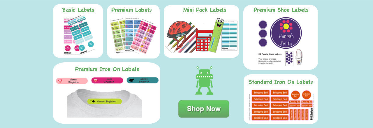 Shop Now for all your labels
