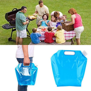 Foldable Drinking Water Bag for Camping - Dealslicks