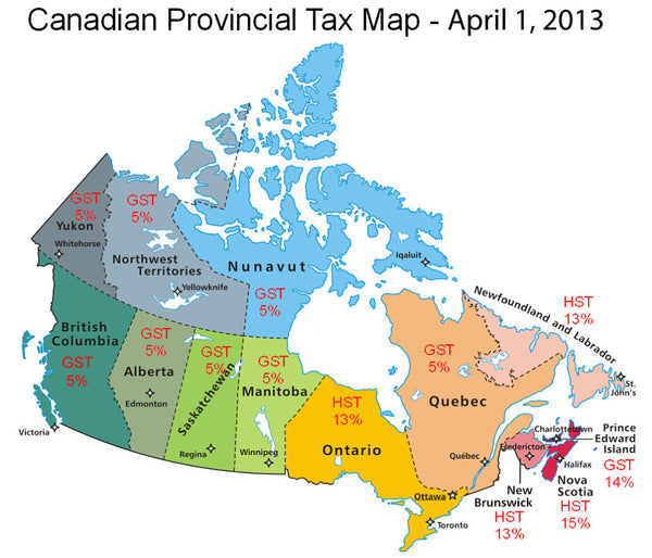 canada provincial sales tax and ecommerce