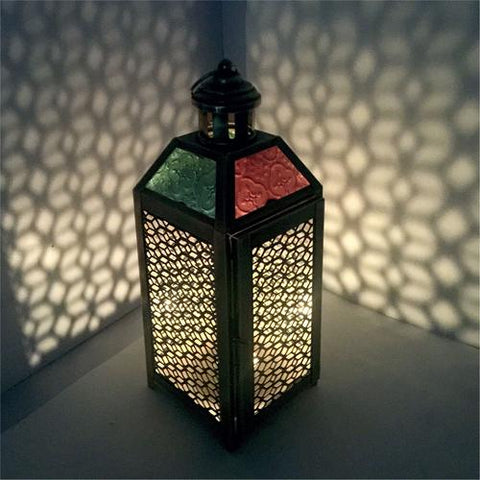 Lantern With Diamond Style Cutwork For A Royal Look