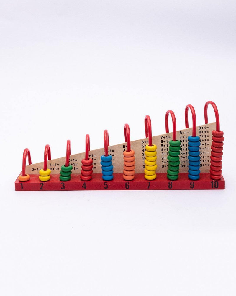 Abacus, Early Educational Toy, Counting Numbers, Maths, Multicolour, MDF