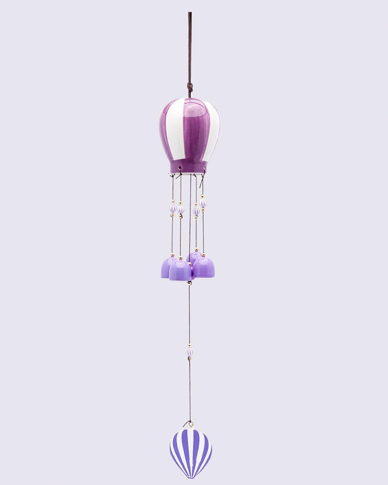 Wind Chimes, Soothing Sound, For Home & Office, Decorative Item, Purple, Iron