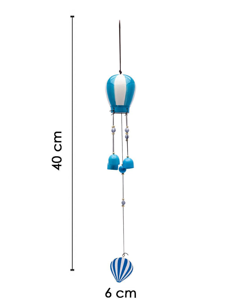 Wind Chimes, Soothing Sound, For Home & Office, Decorative Item, Blue, Iron