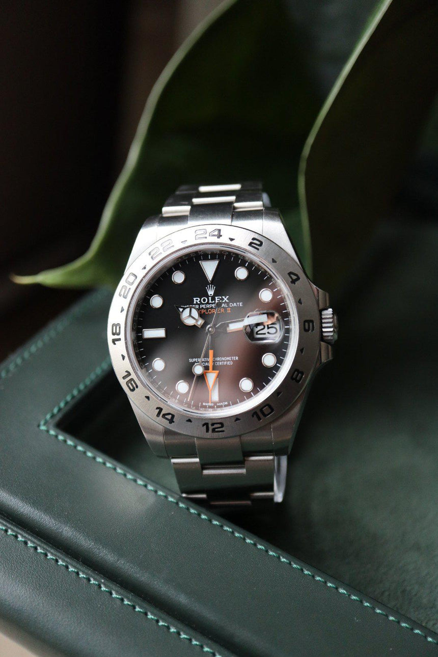 Rolex Explorer II black (216570) | Full set (2019)