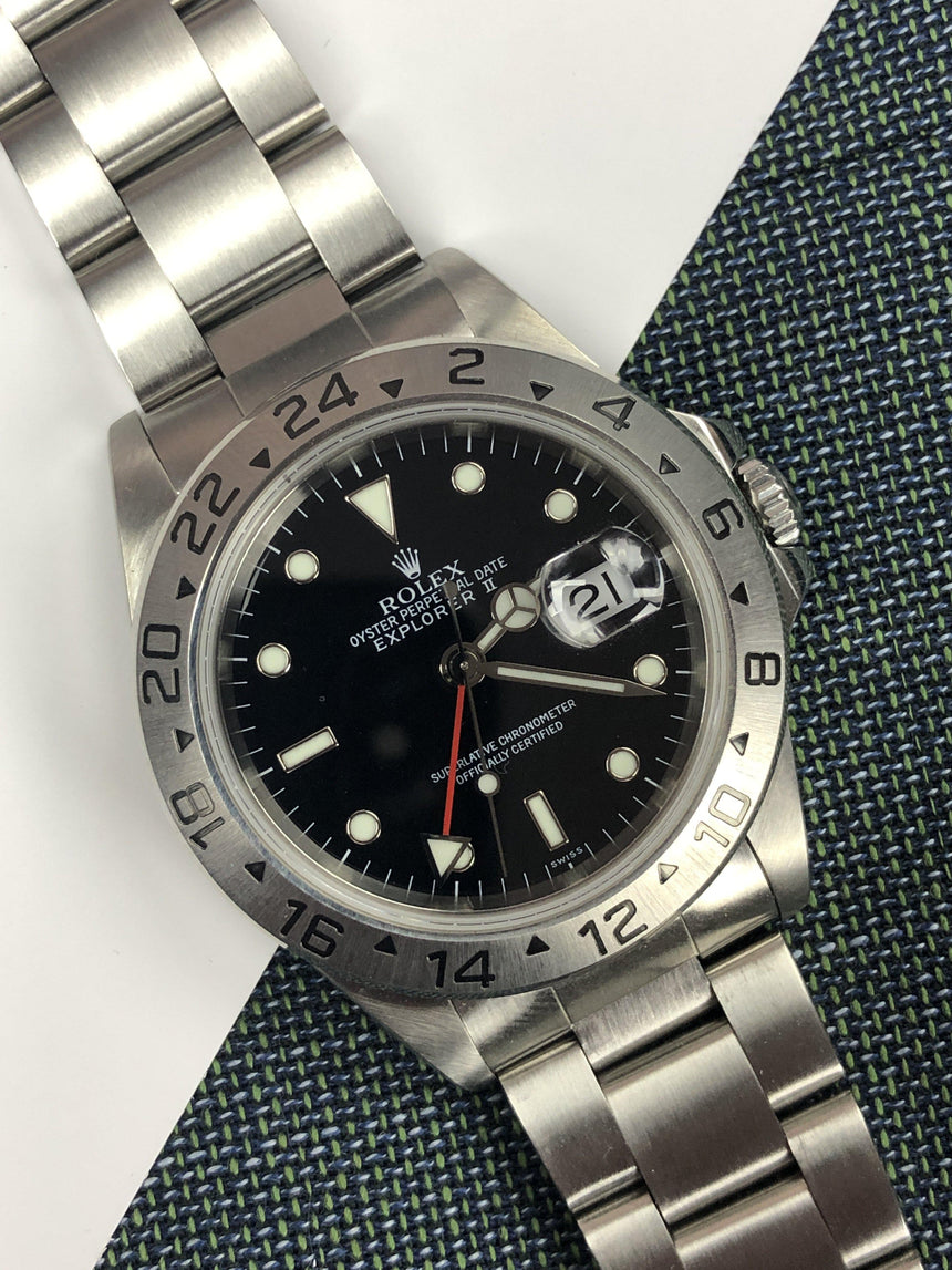 Rolex Explorer II 16570 SWISS-only (1999)