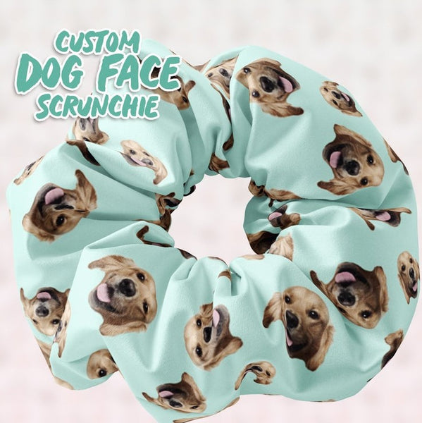 Personalized Dog Faces Scrunchies - Sunfloura Scrunchies