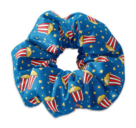 Movie Time Popcorn Scrunchie