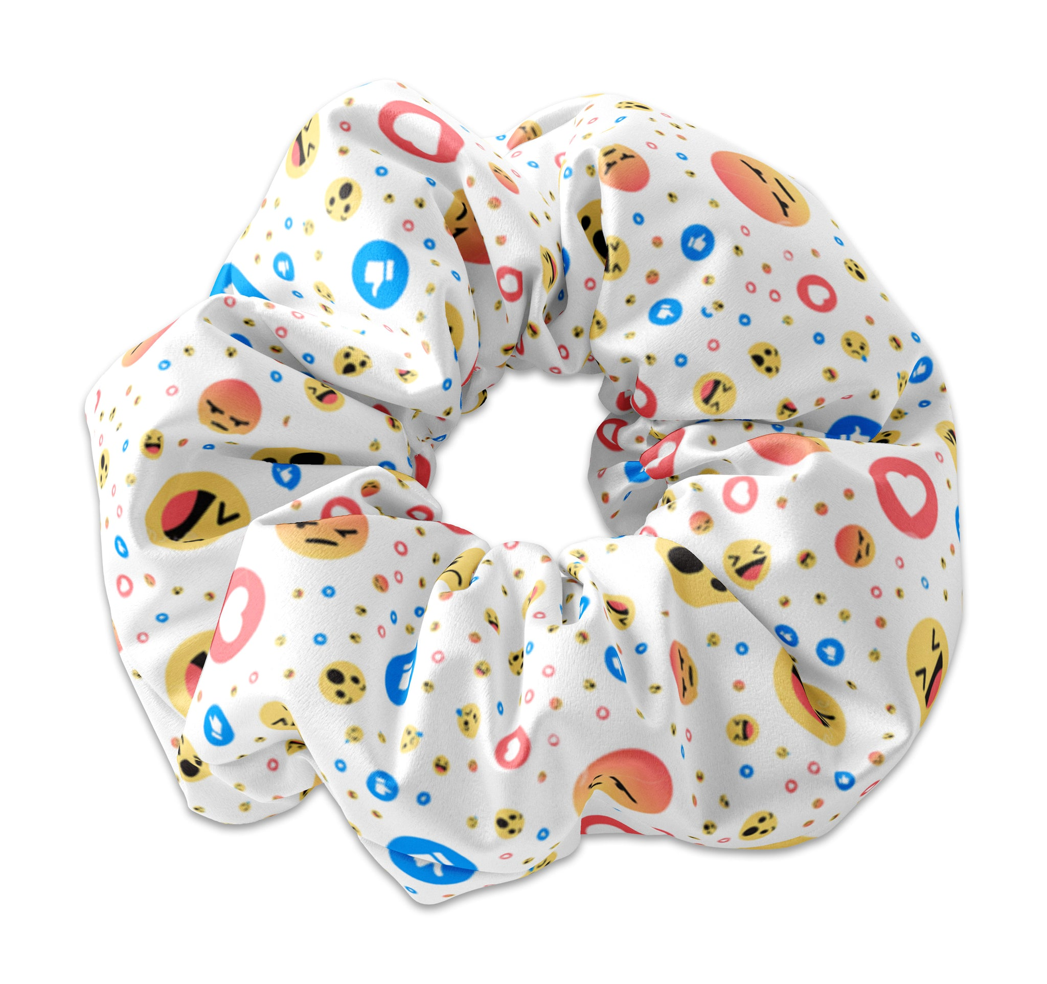 Emoji Fun Scrunchie