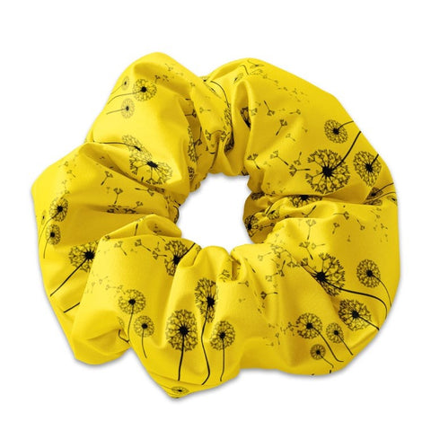Dandelion Scrunchie Hair Tie