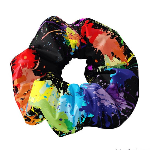 Paint Party Scrunchie - Sunfloura Scrunchies