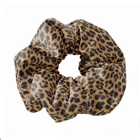 Leopard Print Scrunchie Hair Tie - Sunfloura Scrunchies