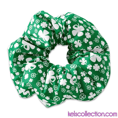 St Patricks Day Scrunchies