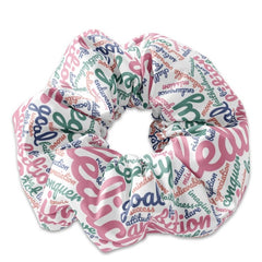 Personalized Dream Board Inspired Word Cloud Scrunchie