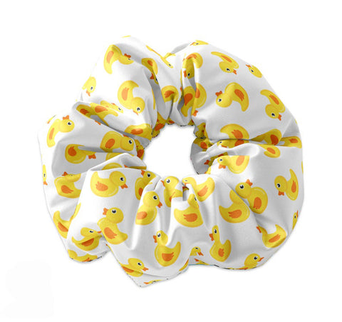 Cute Rubber Ducky Scrunchie - Sunfloura Scrunchies