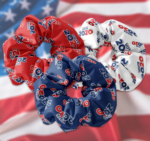 Vote 2020 Scrunchie - Sunfloura Scrunchies