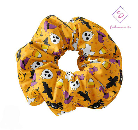 Halloween Themed Scrunchie - Sunfloura Scrunchies