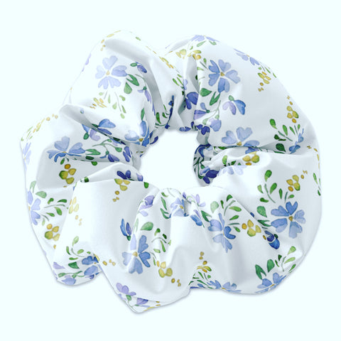 LH Floral Pattern Scrunchie