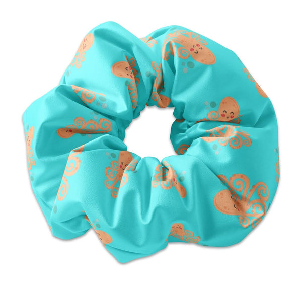 Orange Octopus by Breanna Scrunchie - Sunfloura Scrunchies