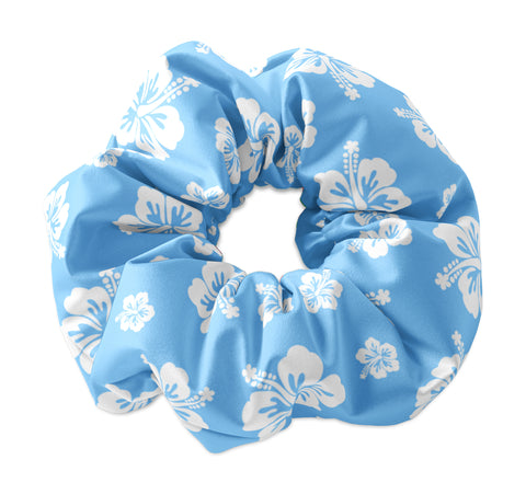 Hawaiian Hibiscus Scrunchie - Sunfloura Scrunchies