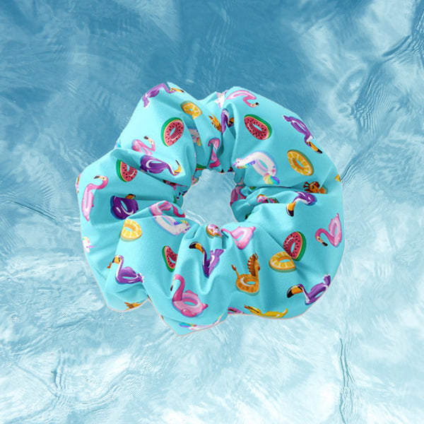 Summertime Pool Toy Scrunchie - Sunfloura Scrunchies