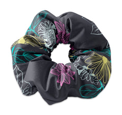 Neon Flower Scrunchie