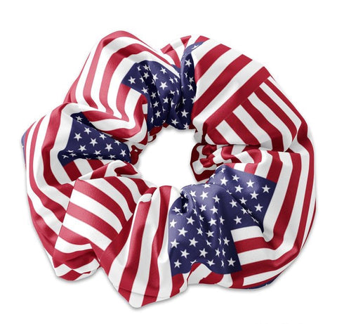 4th of July Themed Scrunchies