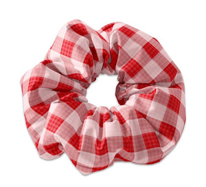 Plaid Style Scrunchie