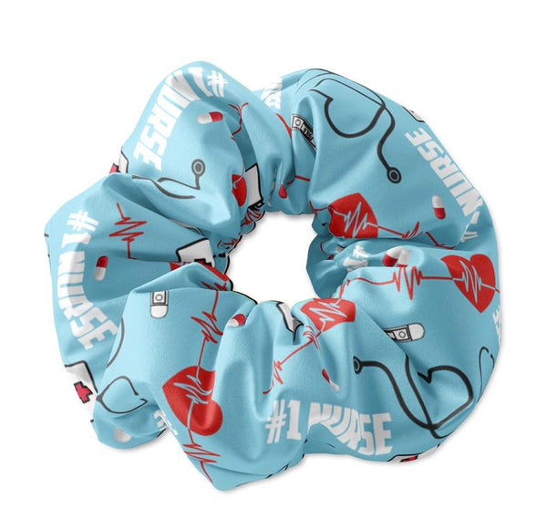 Nurse Themed Scrunchies - Sunfloura Scrunchies