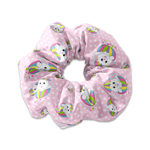 Rainbow Egg Bunny Scrunchie - Sunfloura Scrunchies