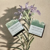 African Alabaster Rosemary Mint And Lavender Soap
