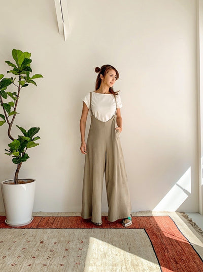 【受注予約のお知らせ】WRINN(リン)Flare pants salopette 3 pieces