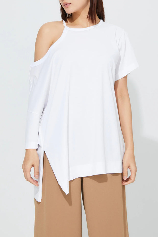 4 way T-Shirt White
