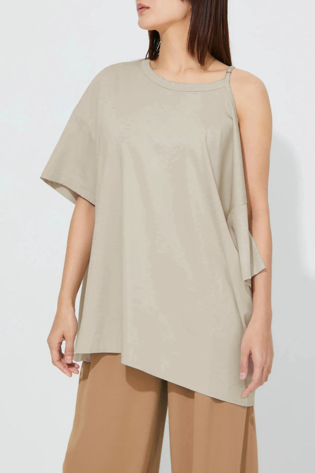 4 way T-Shirt Beige