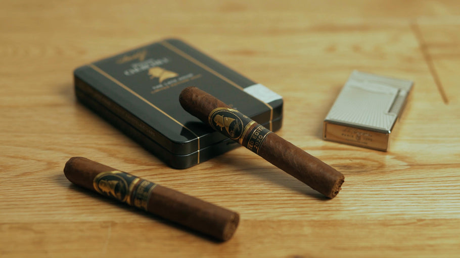 Cigar Rants Reviews The Davidoff Late Hour LE 2020 Petit Panatela