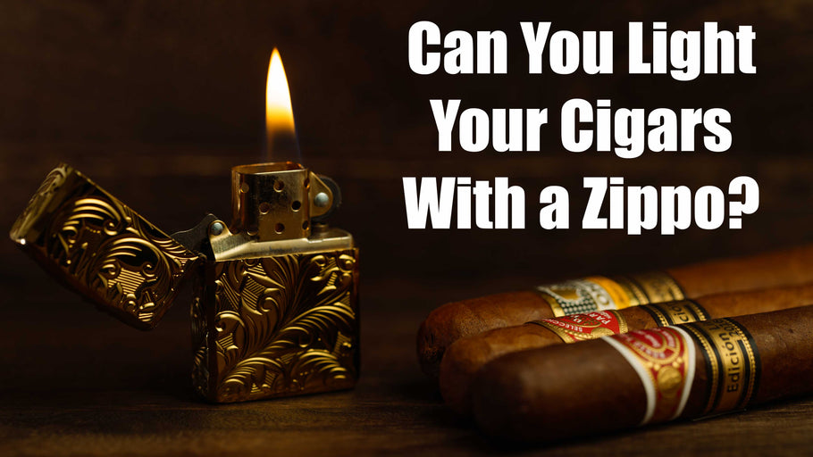 Zippo Soft Flame Lighters Can Be Used To Light Cigars