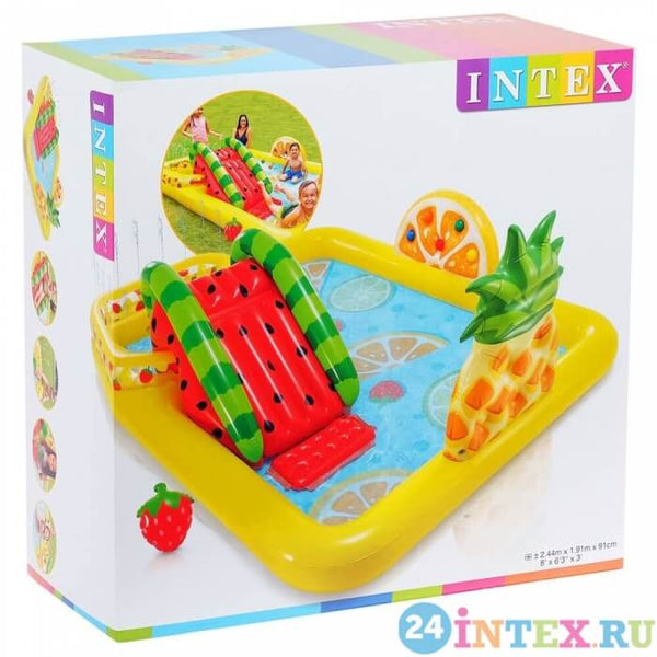 Мини Аква Парк INTEX 57158 Fruity Land