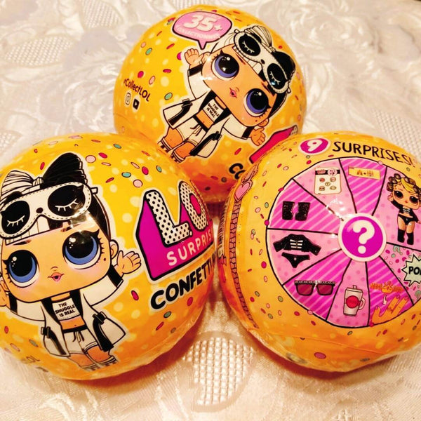 2 x LOL Confetti Pop + ГРАТИС LOL Surprise Serie One